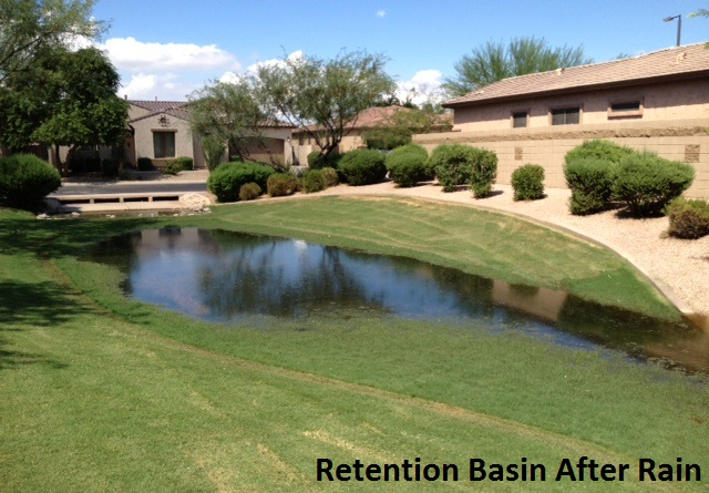 Stormwater solution for residential standing water problems for Residential stormwater drainage solutions