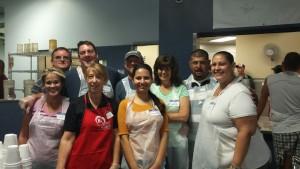 The smiling volunteers of Torrent Resources