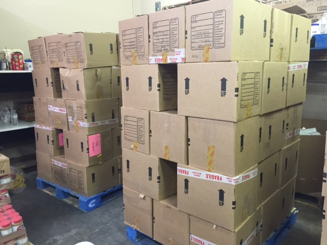 Boxes for Veterans