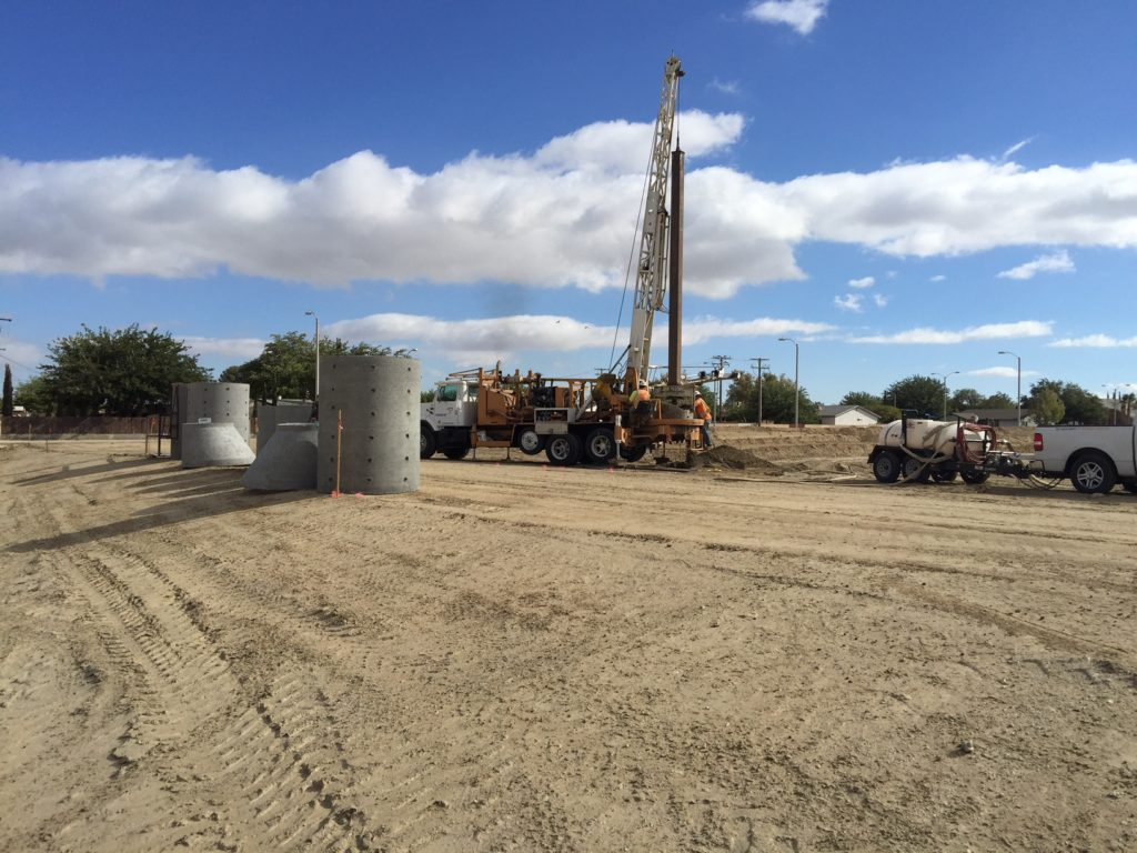 Torrent Resources installing Water Quality BMP MaxWell Drywell