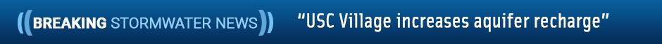 USC Village increaee aquifer recharge